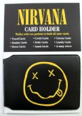 Nirvana - 'Smiley' Card Holder Wallet